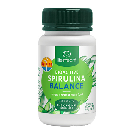 LIFESTREAM Bioactive Spirulina Balance 500mg 100tab