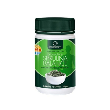 LIFESTREAM Bioactive Spirulina Balance 500mg 200cap