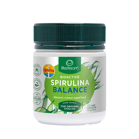LIFESTREAM Bioactive Spirulina Balance 500mg 200tab