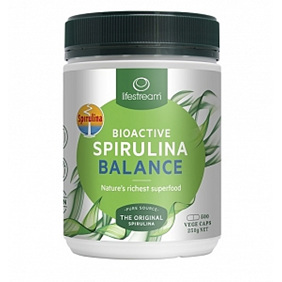 LIFESTREAM Bioactive Spirulina Balance 500mg 500cap