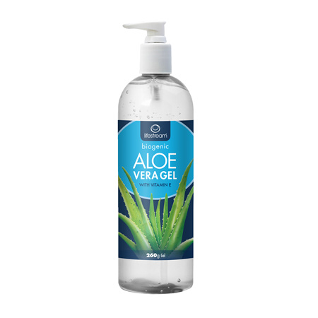 LIFESTREAM Biogenic Aloe Vera Gel 260g Pump