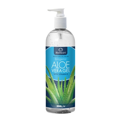 LIFESTREAM Biogenic Aloe Vera Gel 500g Pump