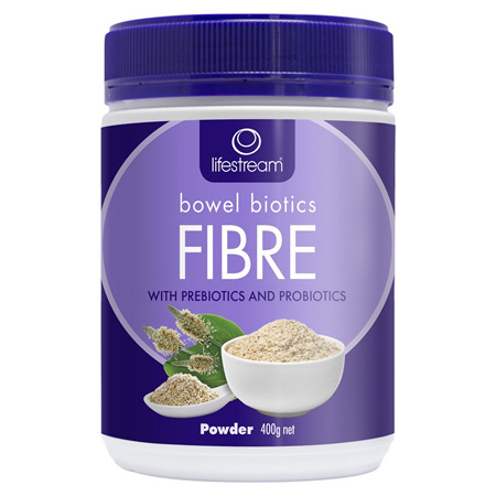 LIFESTREAM Bowel Biotics Fibre 400g
