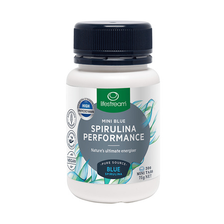 LIFESTREAM Mini Spirulina Blue Performance 300tab
