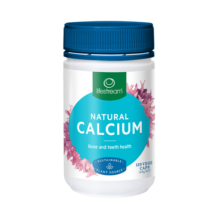 LIFESTREAM Natural Calcium 120caps