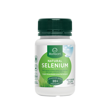 LIFESTREAM Selenium 30caps