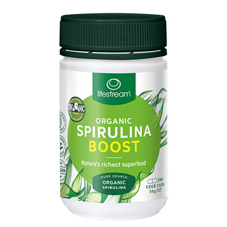 LIFESTREAM Spirulina Boost 495mg 200caps