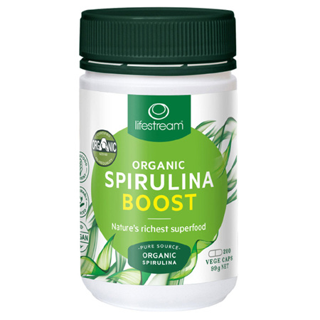 LIFESTREAM Spirulina Boost 500mg 200tabs