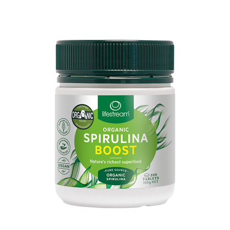 LIFESTREAM Spirulina Boost 500mg 500tabs