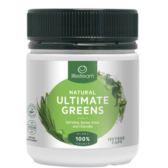 LIFESTREAM Ultimate Greens 120caps