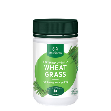 LIFESTREAM Wheat Grass 120caps