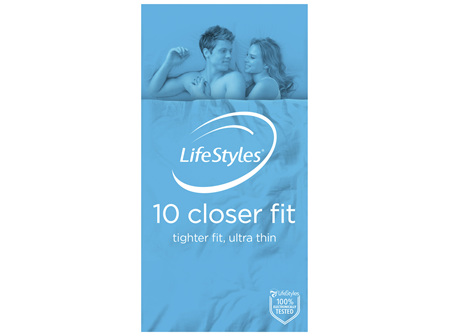 LifeStyles Closer Fit 10 Pack