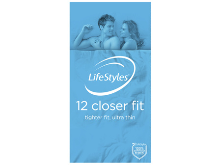 LifeStyles Closer Fit Condoms 12 Pack