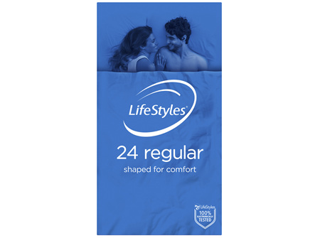 LifeStyles Regular Condoms 24 Pack