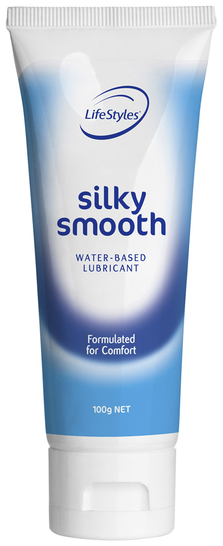 LifeStyles Silky Smooth Water Based Lubricant 100g
