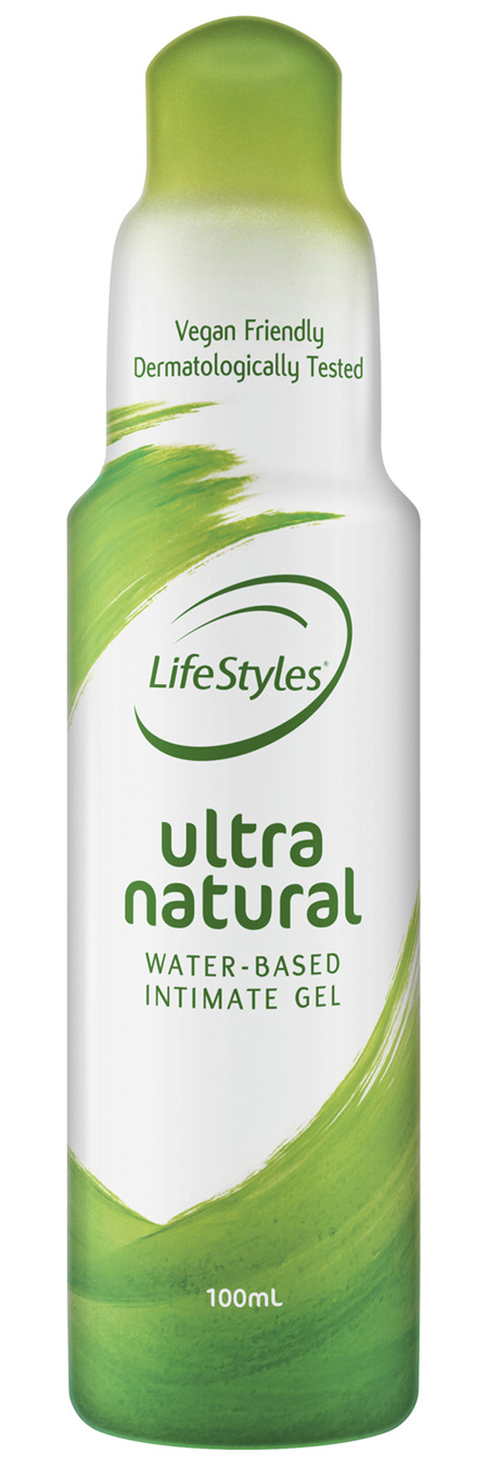 LifeStyles Ultra Natural Water-Based Intimate Gel 100mL