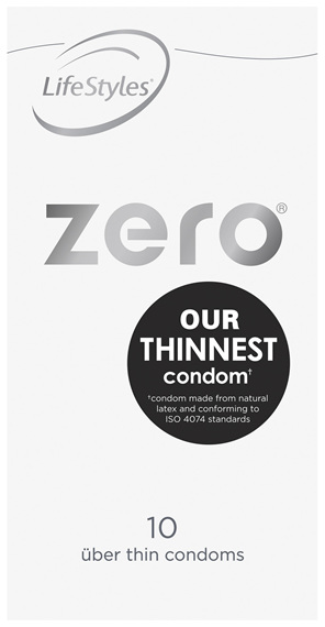 LifeStyles Zero Condoms 10 Pack