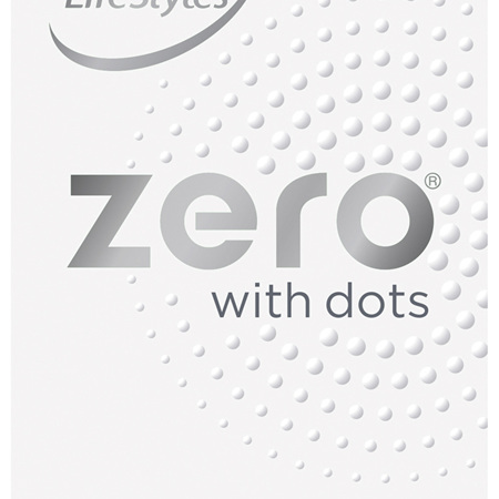 LifeStyles Zero with Dots Condoms 10 Pack