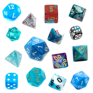 Light Blue Dice