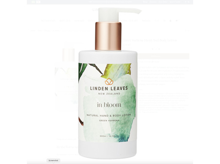 Linden Leaves In Bloom Hand &  Body Lotion 300ml