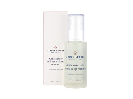 Linden Leaves Oil Cleanser and Eye Makeup Remover 100mL