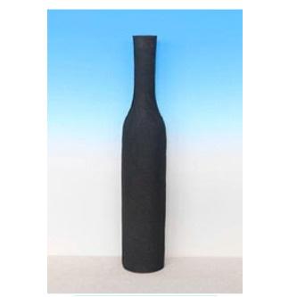 Linen Vase - Black/Large