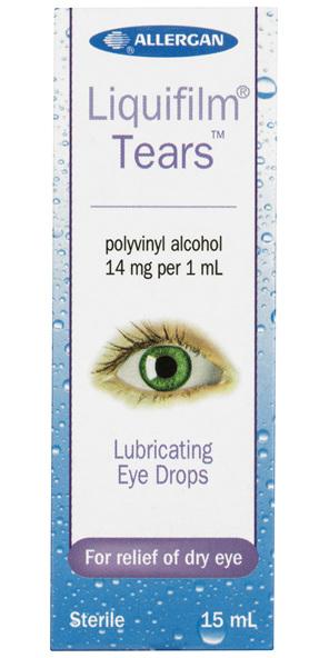 Liquifilm Tears Lubricating Eye Drops 15mL
