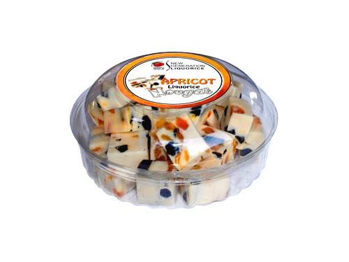 Liquorice Delights Apricot Liquorice Nougat
