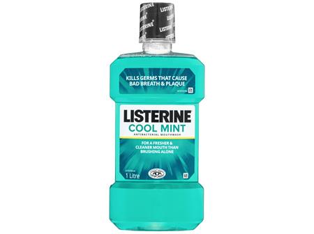 Listerine Cool Mint Mouthwash 1L