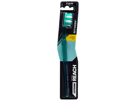 Listerine Designed By Reach Between Toothbrush Firm 1 Pack