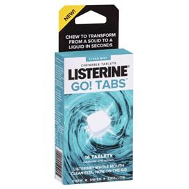 LISTERINE Go! Tabs Mint 16s
