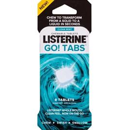 LISTERINE Go! Tabs Mint 8s