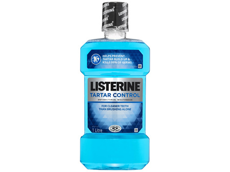 Listerine Tartar Control Mouthwash 1L