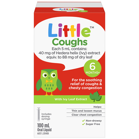 Little Coughs Oral Liquid Original 100mL