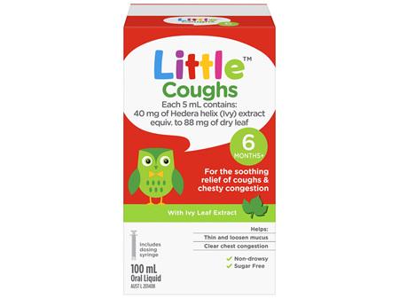 Little Coughs Oral Liquid Original 100mL