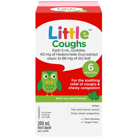 Little Coughs Oral Liquid Original 200mL