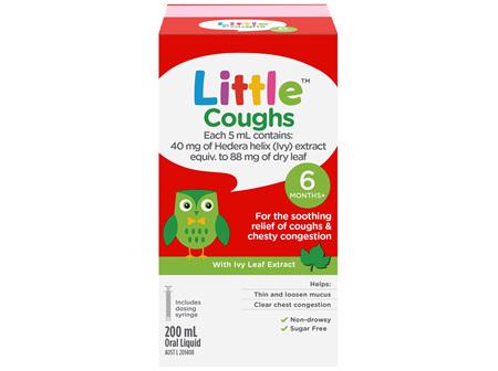 Little Coughs Oral Liquid Original 200mL