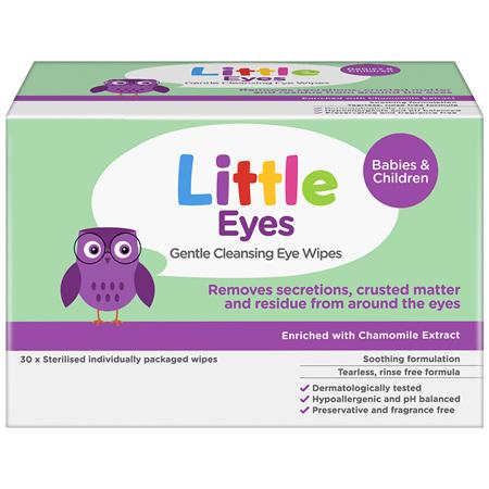 Little Eyes Gentle Cleansing Eye Wipes