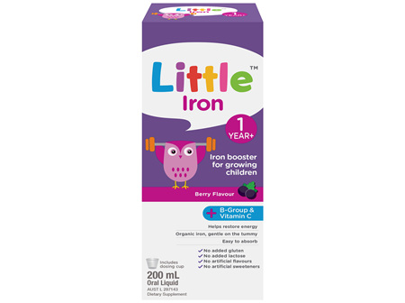 Little Iron Berry Flavour 200mL