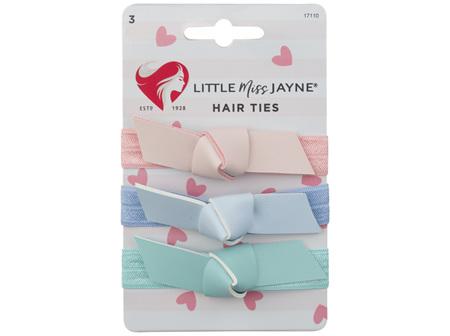 Little Miss Jayne Hair Ties 3 Pack