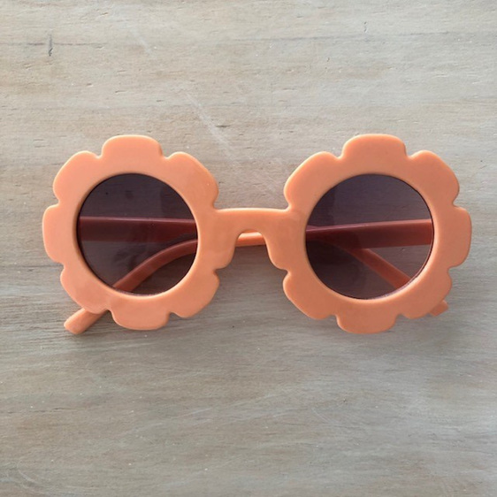 Little Miss Sunglasses - Creamsicle