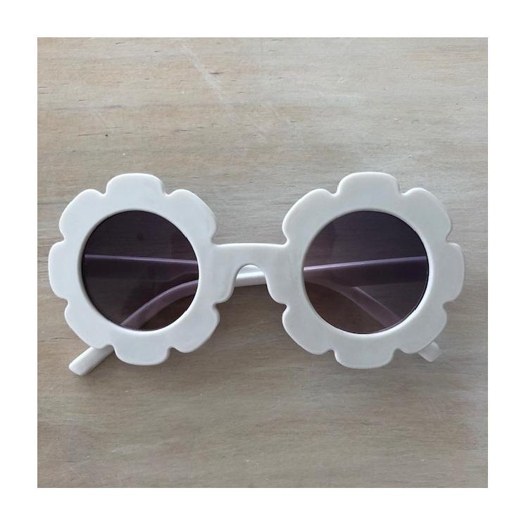 Little Miss Sunglasses - White