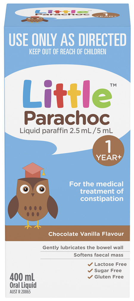 Little Parachoc Liquid Paraffin Chocolate Vanilla 400mL