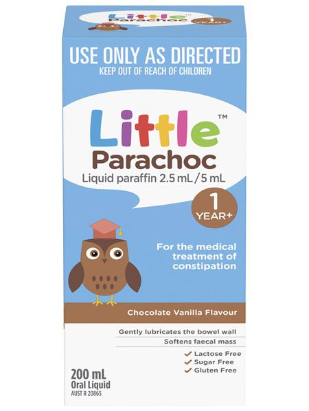 Little Parachoc Liquid Paraffin Chocolate Vanilla 200mL