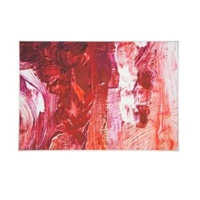 Lively Canvas Art W Oil Detail - White Frame 80x120cm