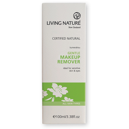 LIVING NATURE Gentle Makeup Remover 100ml