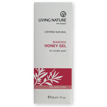 LIVING NATURE Manuka Honey Gel 50ml