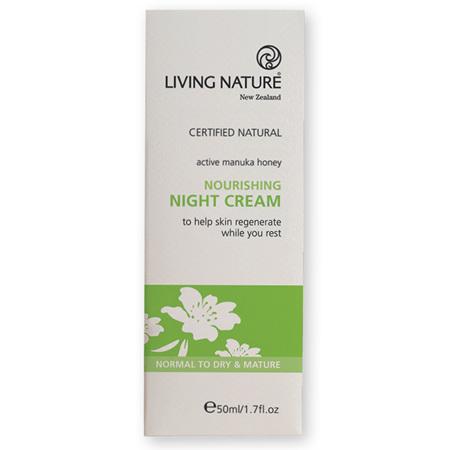 LIVING NATURE Nourishing Night Cream 50ml