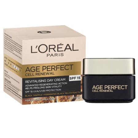 LO Age Perfect Cell Renewal Day Cream SPF15 50ml