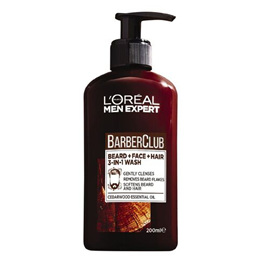 LO Men Expert BC Beard Face & Hair Wash 200ml